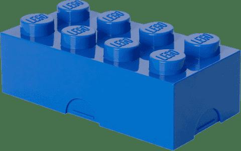 LEGO® Pojemnik na śniadanie, niebieski
