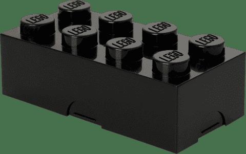 LEGO® Pudełko śniadaniowe, czarne