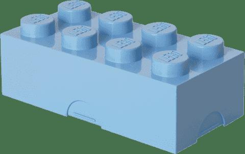 LEGO® Box na desiatu, svetlo modrá