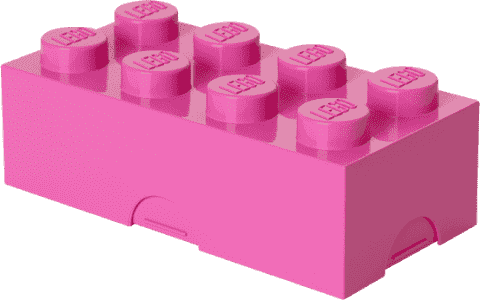 LEGO® Box na desiatu, ružová