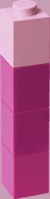 LEGO® Butelka na napoje kwadratowa, fioletowa