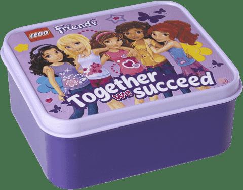 LEGO® Friends box na desiatu, levanduľová