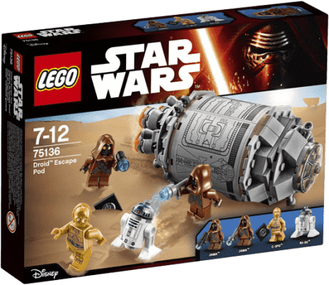 LEGO® Star Wars TM Droid™ Escape Pod (Únikový modul pro droidy)