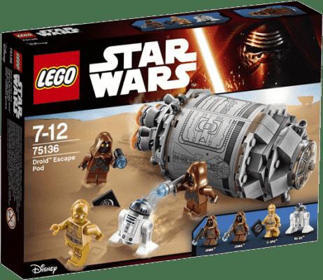 LEGO® Star Wars TM Droid ™ Escape Pod (Únikový modul pre Droid)