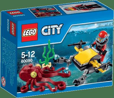 LEGO® City Deep Sea Explorers Skuter głębinowy