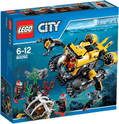 LEGO® City Deep Sea Explorers Łódź głębinowa
