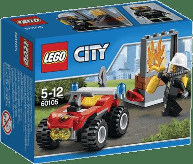 LEGO® City Fire Hasičský terénne vozidlo