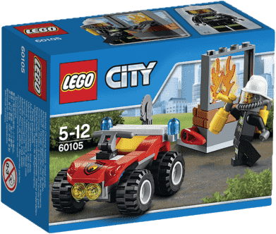 LEGO® City Fire Strażacki quad