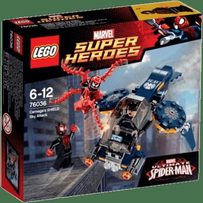 LEGO® Super Heroes Carnagův vzdušný útok na SHIELD