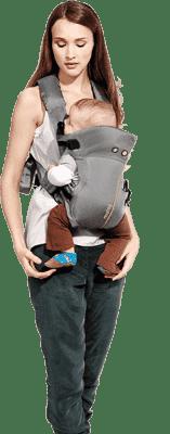 MUTSY Nosítko Carry Me Grey