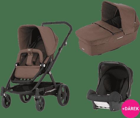 BRITAX Kombinovaný kočárek GO 2016 – Wood brown