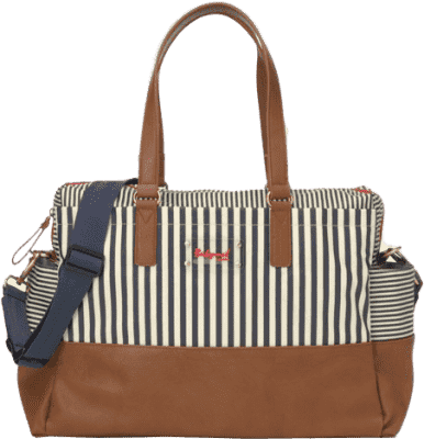 BABYMEL Přebalovací taška Millie – Stripe Navy