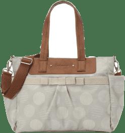 BABYMEL Multifunkční kabelka Cara – Retro Grey