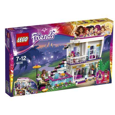 LEGO® Friends Livi a její dům popové hvězdy
