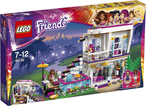 LEGO® Friends Dom gwiazdy pop Livi