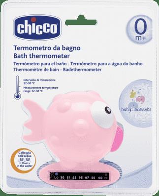 CHICCO Teploměr Rybička, růžová