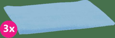 SCAMP Plienky bavlnené svetlo modré 3ks