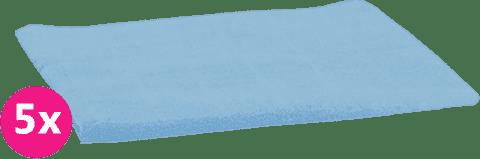 SCAMP Plienky bavlnené svetlo modré 5ks