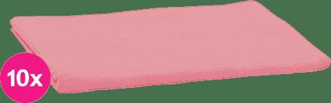 SCAMP Pieluszki bawełniane jasnoróżowe 10 szt.