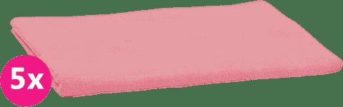 SCAMP Pieluszki bawełniane jasnoróżowe 5 szt.