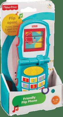 FISHER-PRICE Veselý otvírací telefon