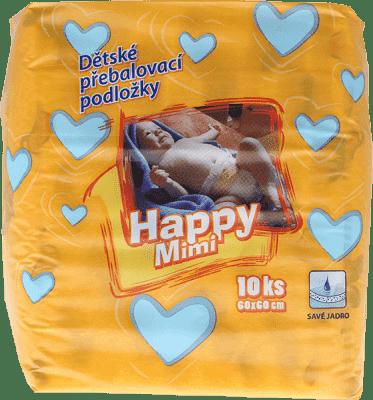 HAPPY MIMI podložky pre deti 10 ks