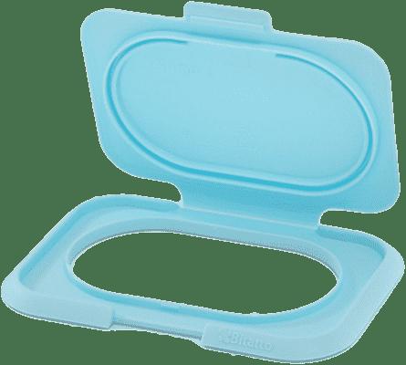 BITATTO Zamkniecie z klapką na wilgotne chusteczki - niebieskie