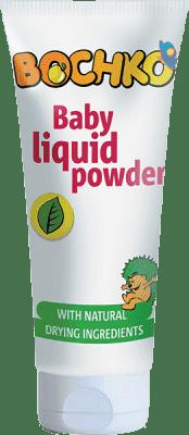 BOCHKO Dětský tekutý pudr tuba 75 ml - proti opruzeninám