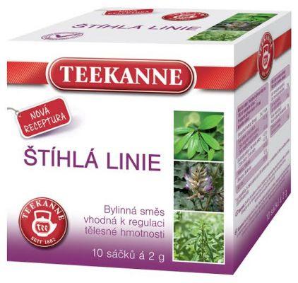 TEEKANNE bylinný čaj - štíhla línia, 10 sáčkov