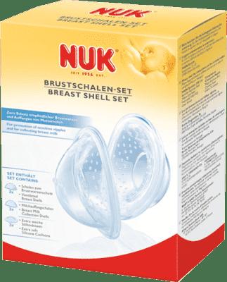 NUK Set speciálních prsních kloboučků 6ks