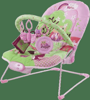 SUN BABY Dětské lehátko – Pink heart
