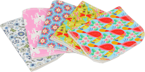 PETIT LULU Látkové ubrousky bavlněné (5 ks)