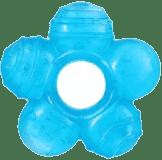 BABY ONO Hryzačka chladiaca kvetinka- modrá