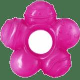 BABY ONO Hryzačka chladiaca kvetinka- ružová