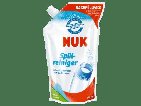 NUK Płyn do mycia butelek i smoczków 500ml - opakowanie uzupełniające