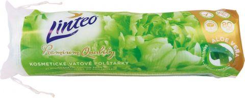 LINTEO Elite Kosmetické odličovací polštářky Aloe Vera 80 ks