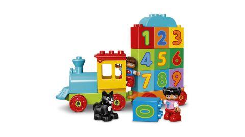 LEGO® DUPLO® 10847 Pociąg z cyferkami