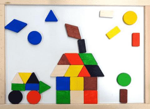 PILCH Magnetyczna mozaika geometryczna
