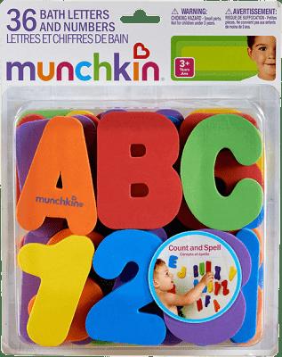 MUNCHKIN - Písmená a čísla do vane
