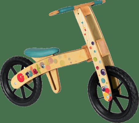 PILCH Rowerek biegowy Góralek, kolor turkusowy