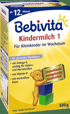 BEBIVITA JUNIOR 1+ (500 g) - dojčenské mlieko