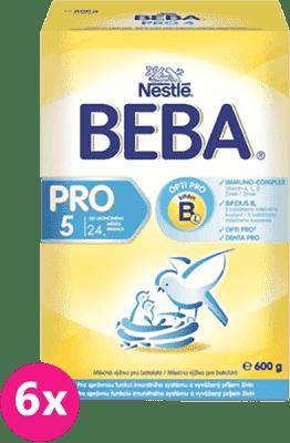 6x NESTLÉ BEBA PRO 5 (600g) - kojenecké mléko