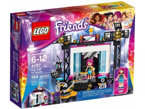 LEGO® Friends TV Studio s popovou hviezdou