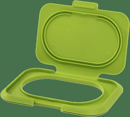 BITATTO Zamkniecie z klapką na wilgotne chusteczki - zielone