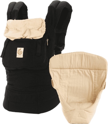 ERGOBABY Zestaw Bundle of Joy Original Black/Camel