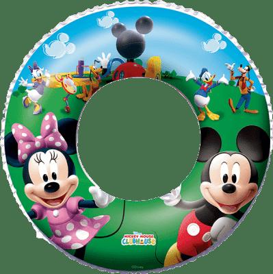 BESTWAY Nafukovací kruh - Disney Mickey Mouse a Minnie, průměr 56 cm