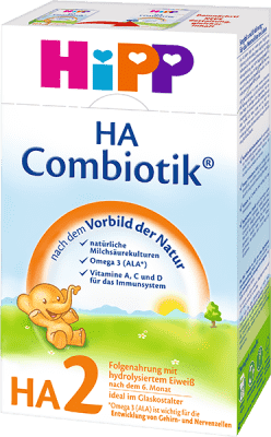 HiPP HA 2 Combiotik (500 g) - dojčenské mlieko