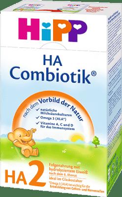 HIPP HA 2 Combiotik (500 g) – hypoalergénne dojčenské mlieko