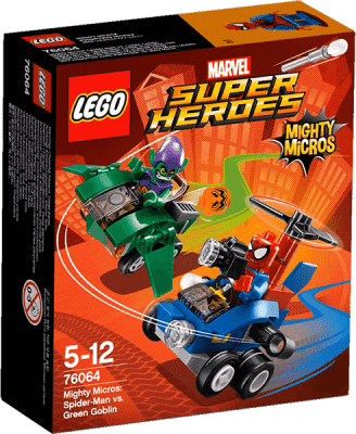 LEGO® Super Heroes Mighty Micros: Spiderman vs. Green Goblin