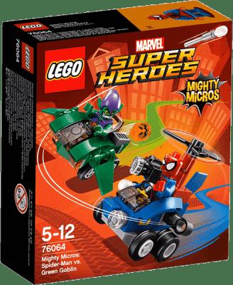 LEGO® Super Heroes Mighty Micros: Spiderman vs. Green Goblin